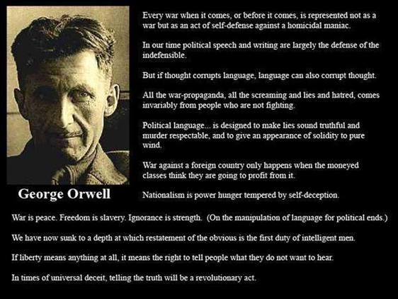 george orwell s 1984 language and power The party also creates a new language called newspeak and changes power point- of 1984 by george orwell nations have come to power without admitting to.